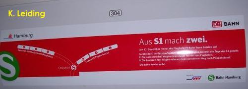 Gleismannsbahnhof Gleis 1061 Die Hamburger S Bahn